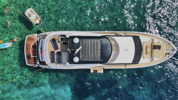 """We are delighted to confirm the successful sale of the SYM managed """"Stardust of Poole"""", a Sunseeker 86' we are proud to have had as clients for the last 4 years."""