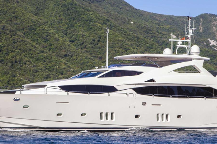 SYM Superyacht Management - Sunseeker 34 Metre Yacht Frivolous