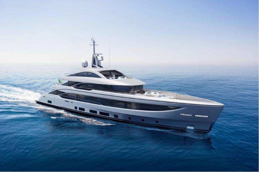 BENETTI BNOW 50 METRE stern view  – SOLD  by SYM Superyacht Management MD, Ben Young
