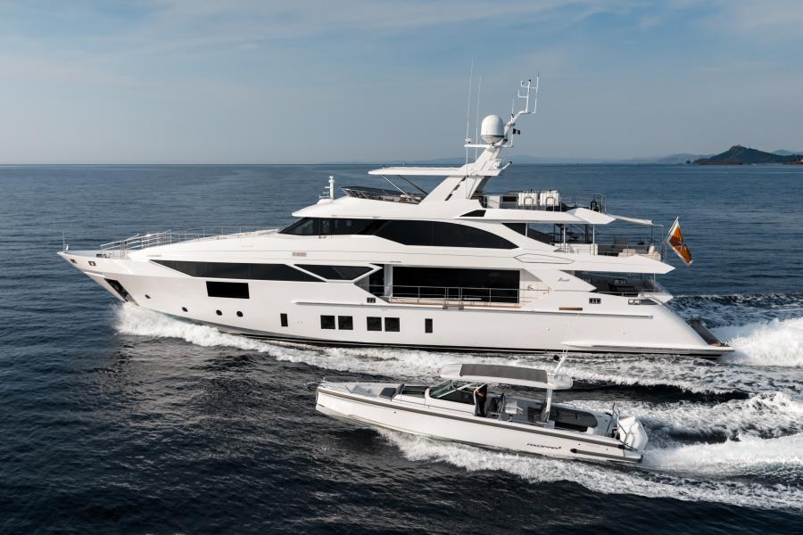 Jacozami Benetti Veloce 125 - 2021 charter availability SYM Superyacht Management