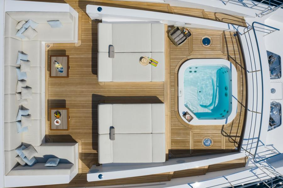 Jacozami Benetti Veloce 125 - 2021 charter availability SYM Superyacht Management