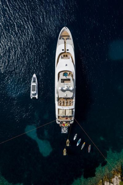 Aerial photo  - LAMMOUCHE PHOTOSHOOT - SYM Superyacht Management, Port Camille Rayon, Golfe Juan