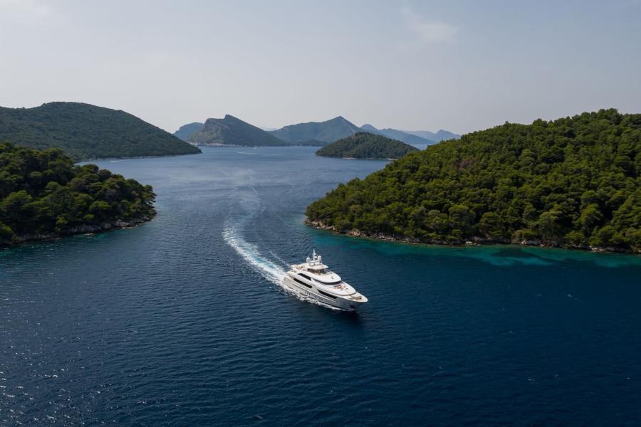 Long distance photo - LAMMOUCHE PHOTOSHOOT - SYM Superyacht Management, Port Camille Rayon, Golfe Juan