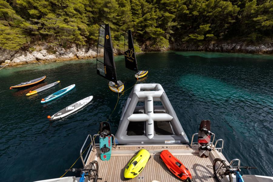 Inflatable toys - LAMMOUCHE PHOTOSHOOT - SYM Superyacht Management, Port Camille Rayon, Golfe Juan