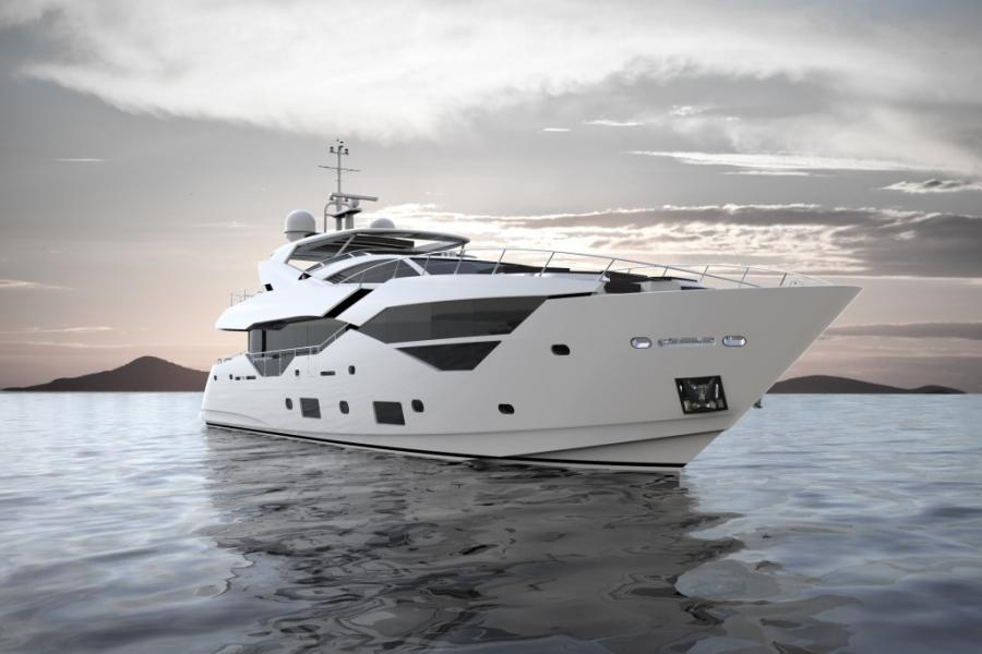 Second Sunseeker 116 joins the SYM fleet-1